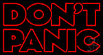 Dont Panic Neon Sign