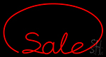 Red Sale Neon Sign