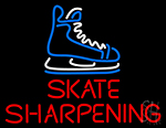 Skate Sharpening Neon Sign
