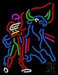 Spanish Bullfighter Neon Sign