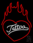 Tattoo Heart Neon Sign