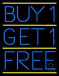 Buy1 Get1 Free Neon Sign