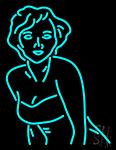 Marilyn Monroe Neon Sign