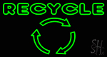 Recycle Neon Sign