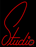 Studio Cursive Neon Sign