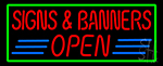 Art Open Neon Sign
