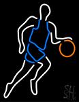 Basketball Player Neon Sign