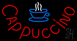 Cappuccino With Cup Neon Sign