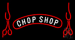 Chop Shop With Chop Neon Sign
