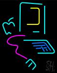 Computer Neon Sign