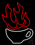 Cosmic Coffee Neon Sign