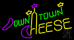 Down Town Cheese Neon Sign