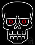 Evil Skull Neon Sign