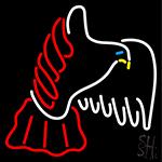 Fly Bird Logo Neon Sign