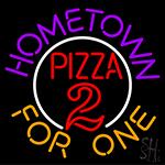 Hometown Pizza Neon Sign
