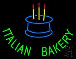 Italian Bakery Neon Sign