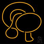 Mushroom Logo Neon Sign