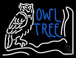 Owl Tree Neon Sign