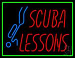 Scuba Anyone Neon Sign
