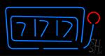 Slot Machine 777 Neon Sign