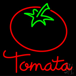 Tomato With Logo Neon Sign