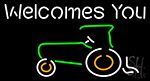 Welcomes You Logo Neon Sign