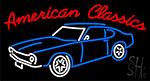 American Classics Car Neon Sign