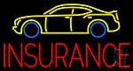 Auto Insurance Neon Sign