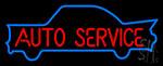 Auto Service Neon Sign