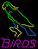 Birds Logo Neon Sign