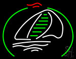 Boats Sell Neon Sign