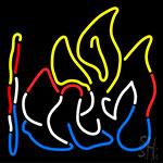 Bonfire Neon Sign