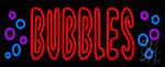 Bubbles Neon Sign