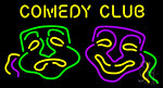 Comedy Club Neon Sign