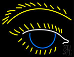 Eye Icon Neon Sign