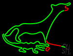 Gator And Dog Neon Sign