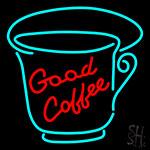 Good Coffee Neon Sign