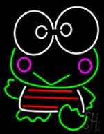 Keroppi Neon Sign