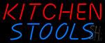 Kitchen Stools Neon Sign