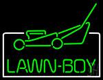 Lawn Boy Logo Neon Sign