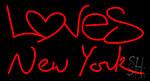 Loves New York Neon Sign