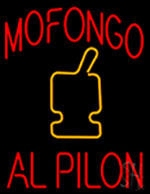 Mofongo Al Pilon Neon Sign