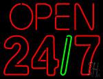 Open 24 7 Neon Sign