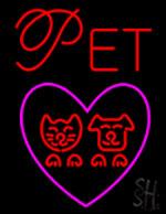 Pet Love Neon Sign