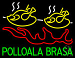 Pollo Ala Brasa Fish Neon Sign