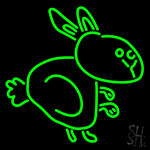 Run Rabbit Neon Sign