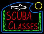 Scuba Classes Neon Sign