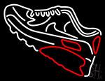 Shoe Logo Neon Sign