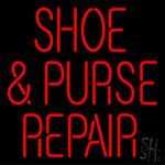 Shoe Purse Repair Neon Sign