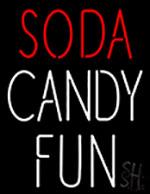 Soda Candy Fun Neon Sign